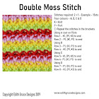 Double Moss Knitting Stitches