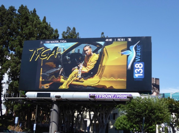 Tyga 138 Water billboard