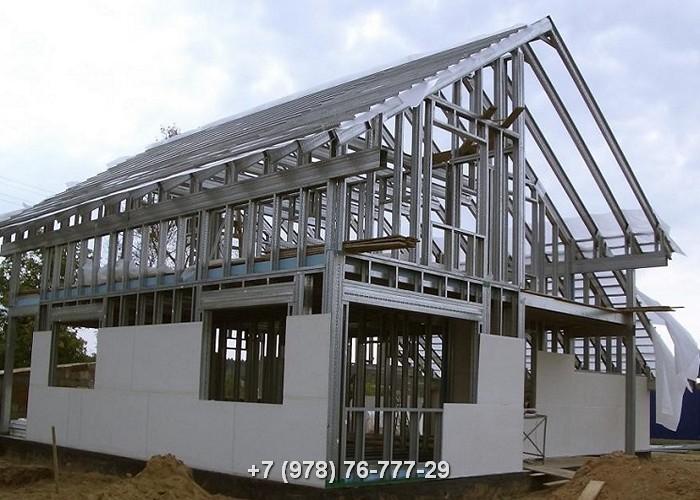 ЛСТК конструкции проекты домов цены