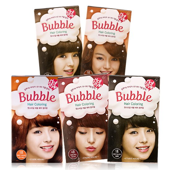 Bubble Hair Coloring from ETUDE HOUSE - Beauty Bemused