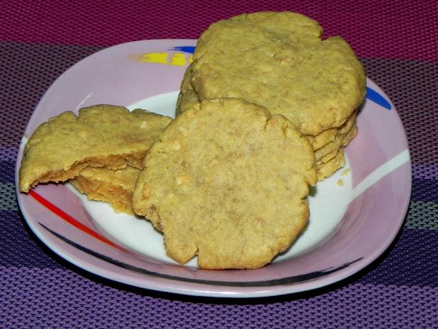 receita de cookie de amendoim