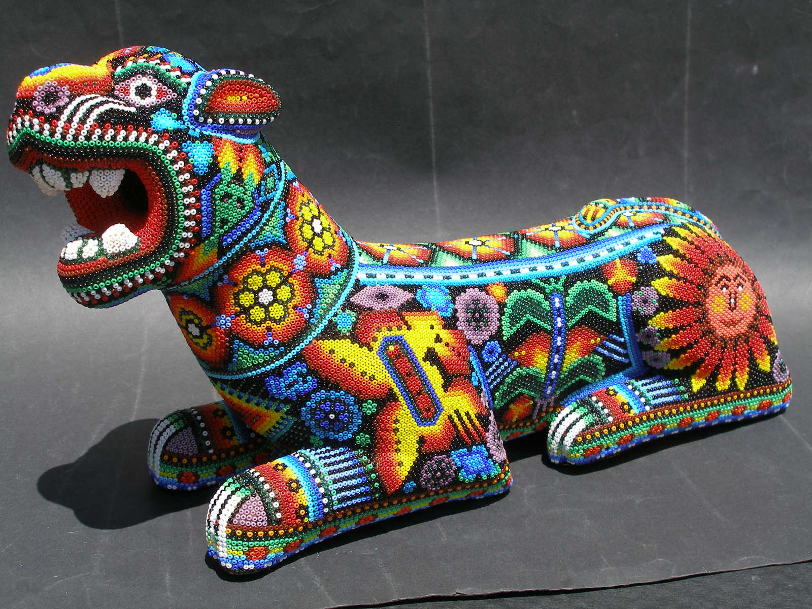 Huichol Indian Peyote Art