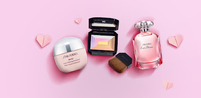 Shiseido Free Ibuki Smart Filtering Smoother Sample Kit and 7 Lights Powder Illuminator quick touch up