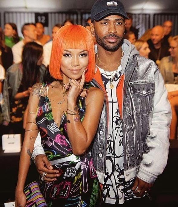 Jhene Aiko and Big Sean are probably dating
