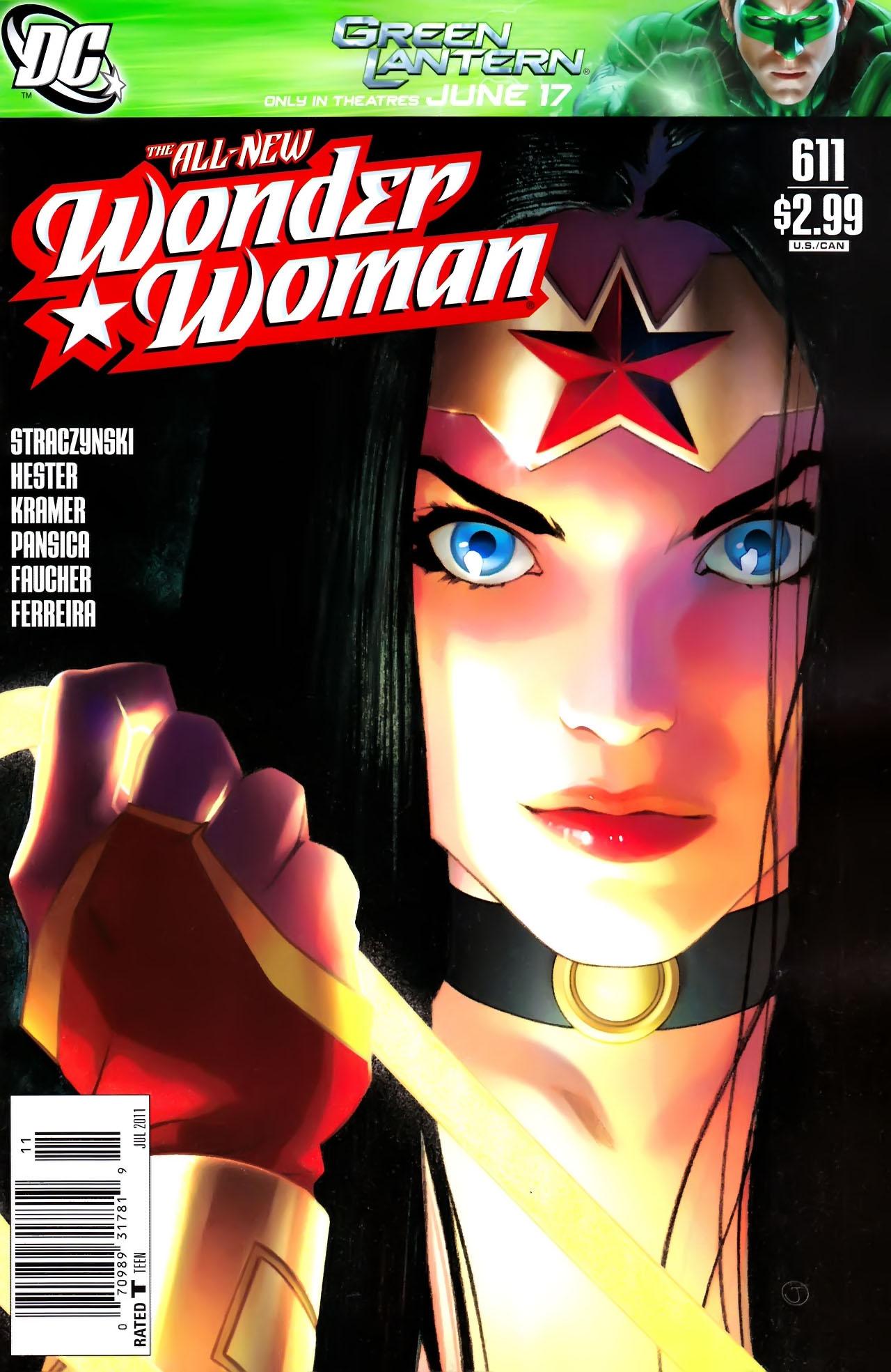 Read online Wonder Woman (2006) comic -  Issue #611 - 1