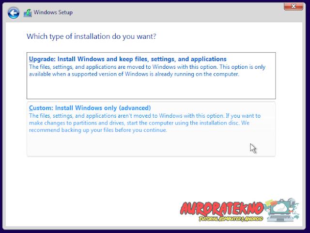 Panduan & Cara Install Windows 10 Untuk Pemula (Lengkap Dengan Gambar Dan Penjelasan)