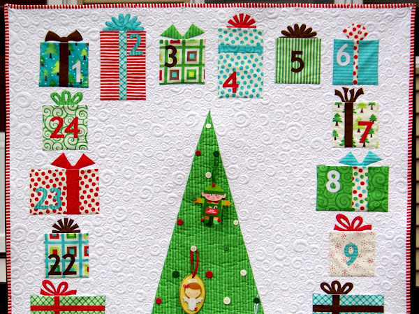 Advent Calendar Quilt Instructions