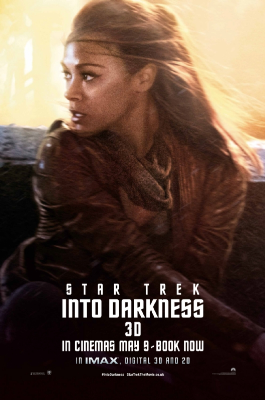 Star Trek Into Darkness - Lt. Uhura - A Constantly Racing Mind