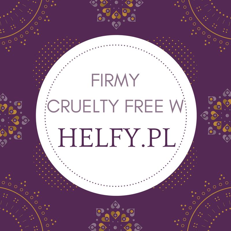 KOSMETYKI CRUELTY FREE W HELFY.PL / LISTA FIRM