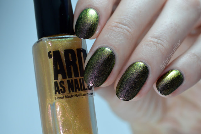 'ard as nails colour shift vicky multichrome swatch