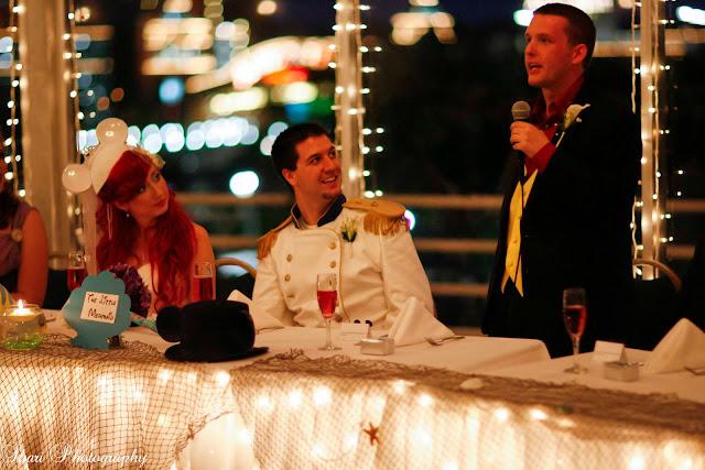 Ultimate Disney Wedding Centerpieces - The Little Mermaid