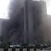 CBN Headquarters In Abuja Currently On Fire |*