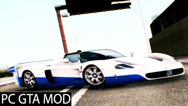 Free Download Maserati MC12 V1.0 Mod for GTA San Andreas.
