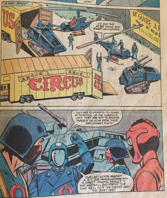 G.I. Joe #30, Dreadnoks, Marvel Comics, 1980s