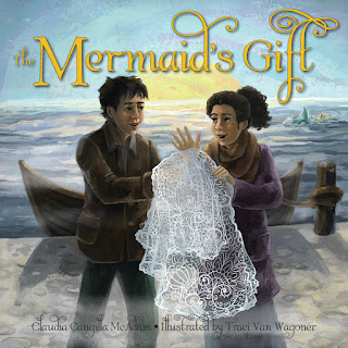 The Mermaid's Gift written by Claudia Cangilla McAdam, illustated by Traci Van Wagoner at Imagine That! Design