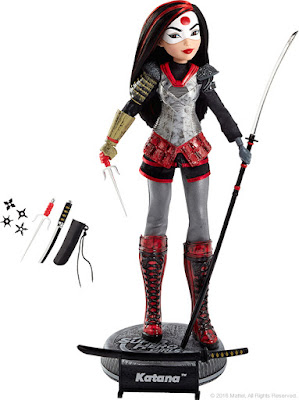 San Diego Comic-Con 2016 Exclusive DC Super Hero Girls Katana Action Doll