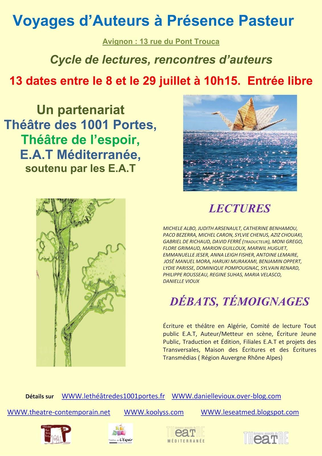 Le blog de michel caron auteur entre autres rendez vous - Avignon off 2017 programme ...