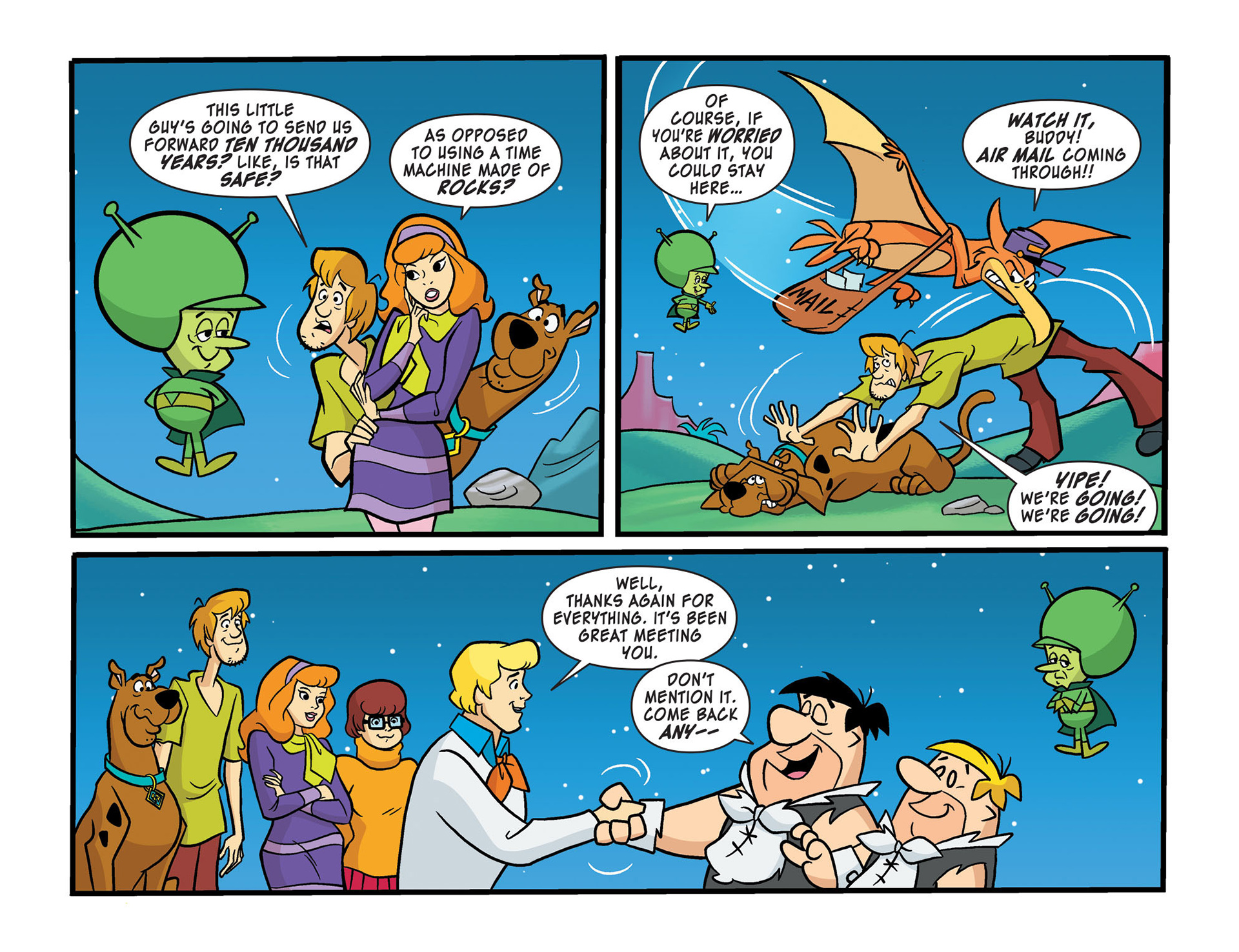Read online Scooby-Doo! Team-Up comic -  Issue #14 - 19
