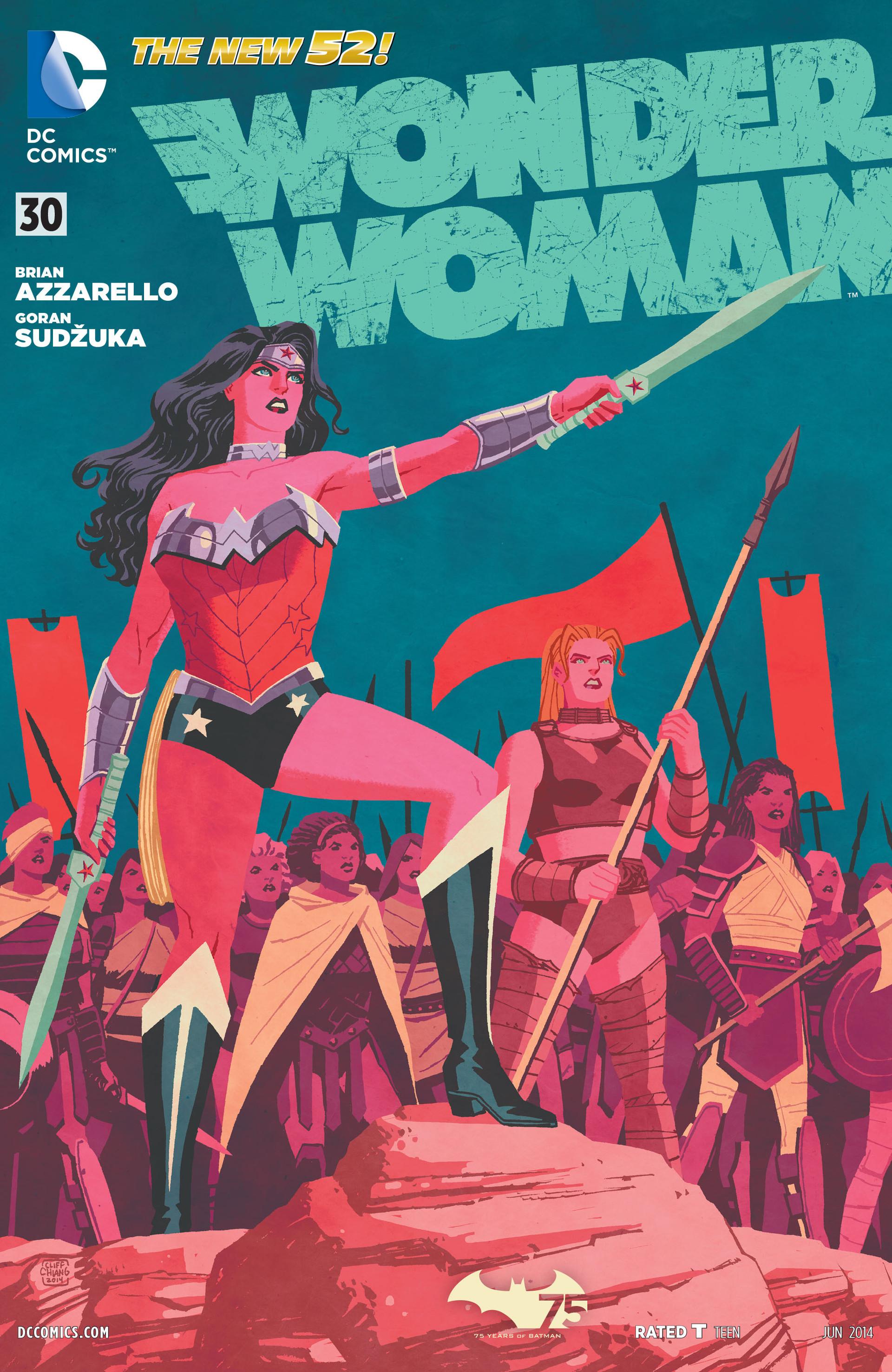 Read online Wonder Woman (2011) comic -  Issue #30 - 1
