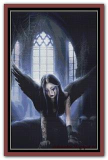"""Angels Death"" Witchykitt Designs"