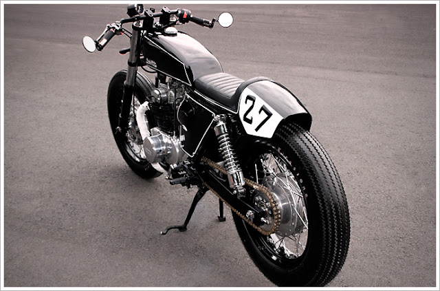 Honda CL350 By Studio Motor Hell Kustom