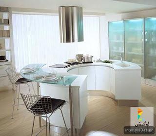 Round Countertop Kitchen 11