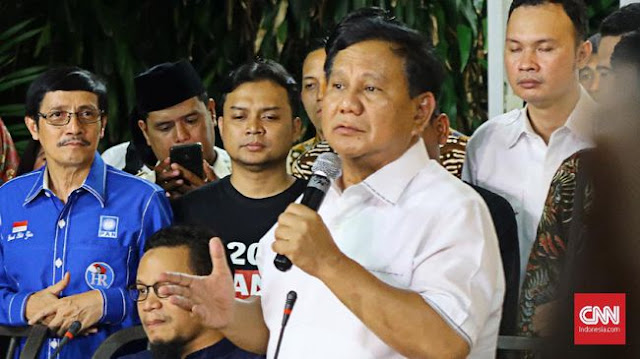 Prabowo: Utamakan Tenaga Kerja dalam Negeri