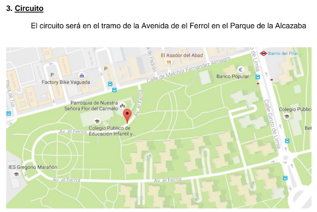 1ª Edición Carrera nocturna de Autos locos en las fiestas del Barrio del Pilar 2016