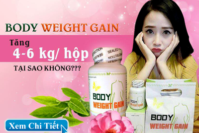 Thuốc Tăng Cân Body Weight Gain Nhật Bản