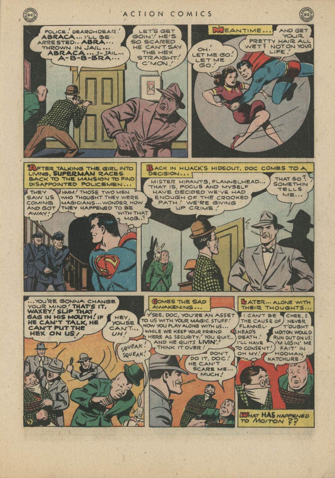 Read online Action Comics (1938) comic -  Issue #83 - 11