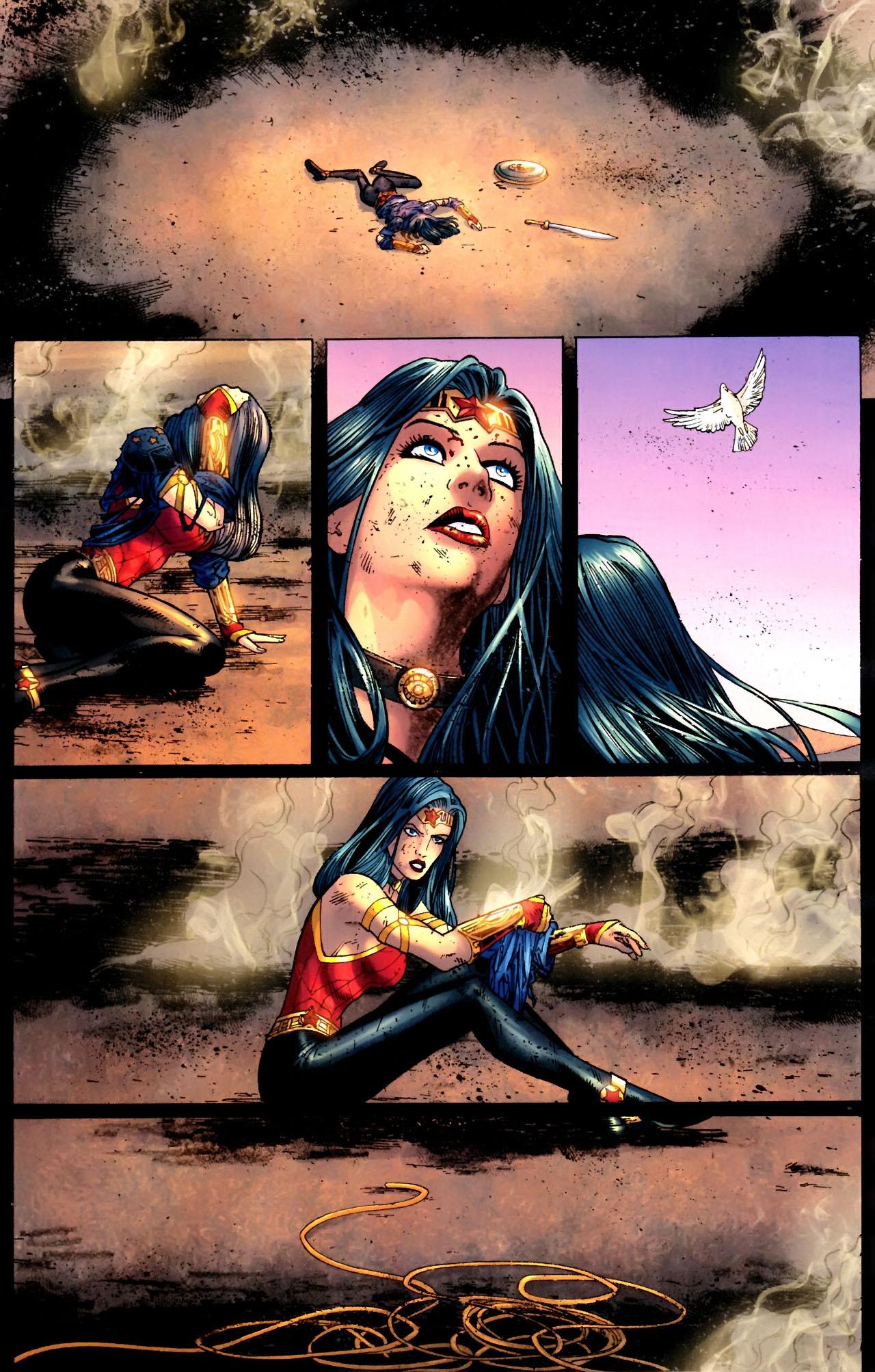 Read online Wonder Woman (2006) comic -  Issue #604 - 16