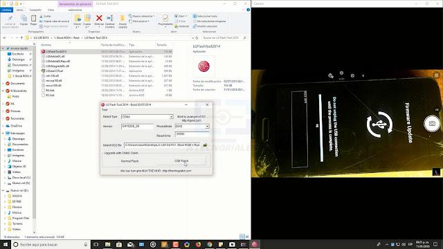 LG flash tool + kdz