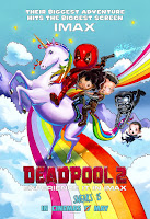 deadpool 2 imax poster malaysia cartoon unicorn