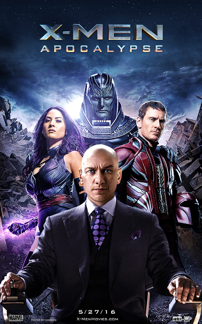 Download Film X-Men: Apocalypse (2016) HDRip Subtitle Indonesia