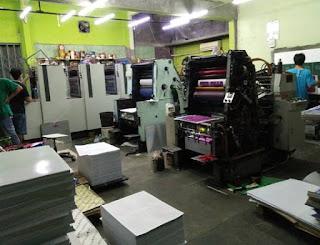 ukuran cetak mesin 52, 58 dan 72
