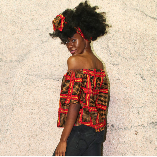 pictures of ankara skirts and blouses