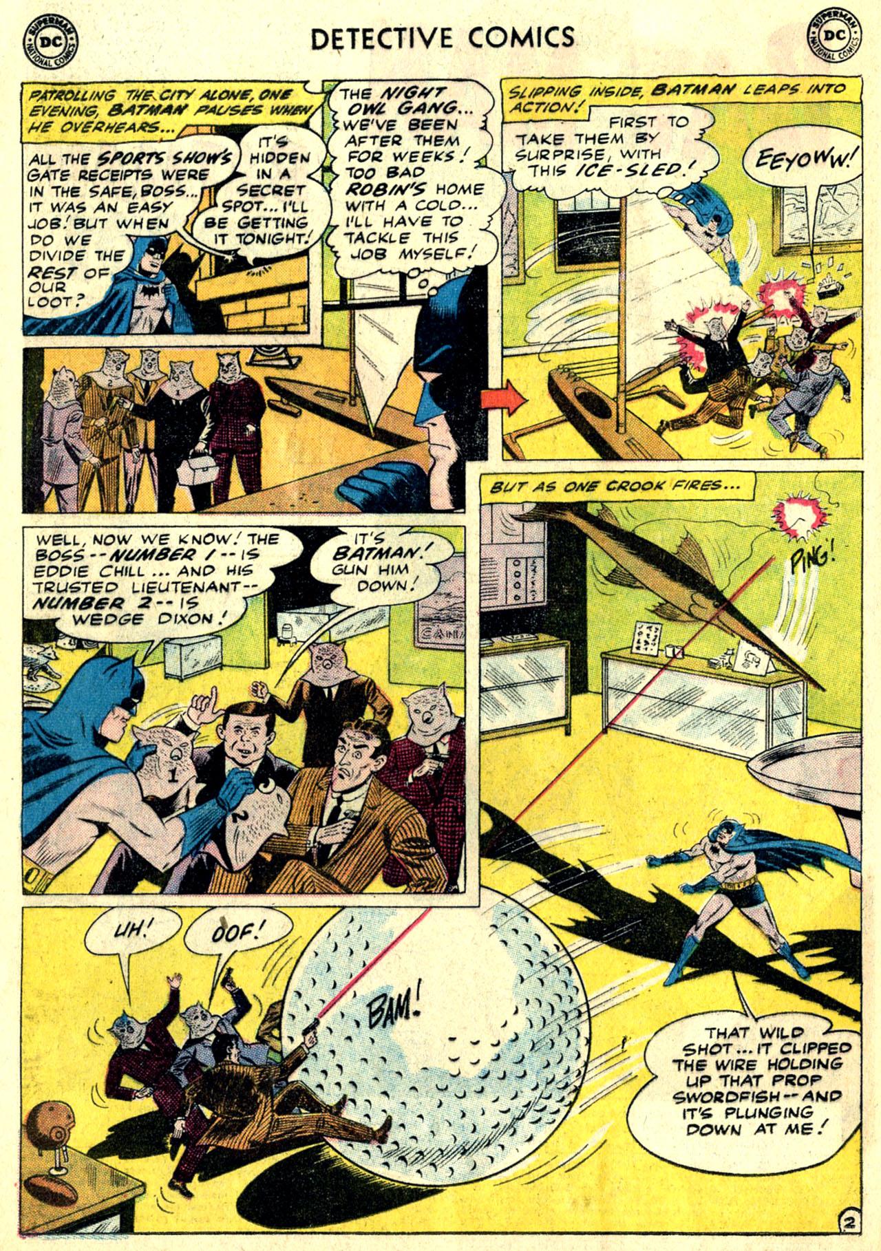 Detective Comics (1937) 281 Page 3