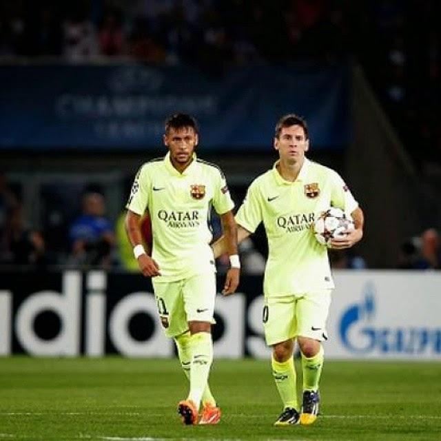 PSG vs Fc Barcelona 'UCL' 2014-2015 ~ Fc Barcelona Photo