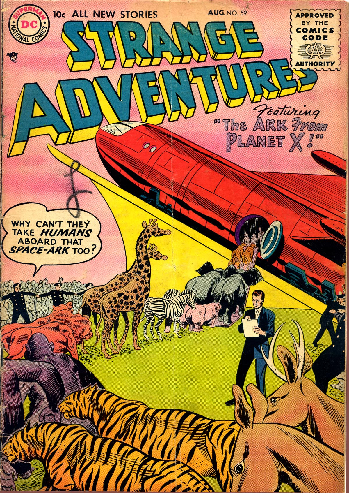 Strange Adventures (1950) issue 59 - Page 1