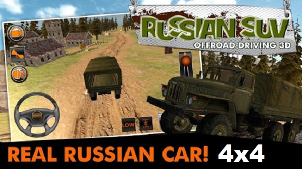 Download 4×4 Russian SUVs Mod Apk Game