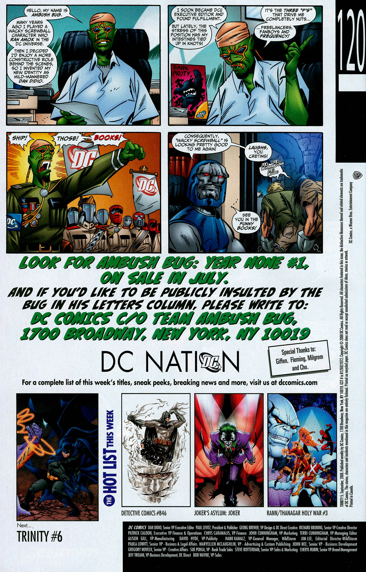 Read online Trinity (2008) comic -  Issue #5 - 33
