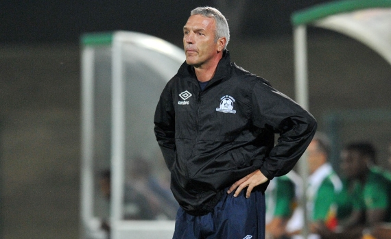 Maritzburg United coach Ernst Middendorp