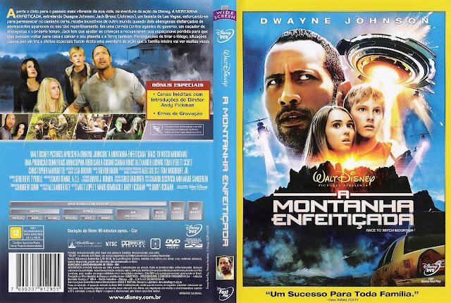 Capa DVD A Montanha Enfeitiçada