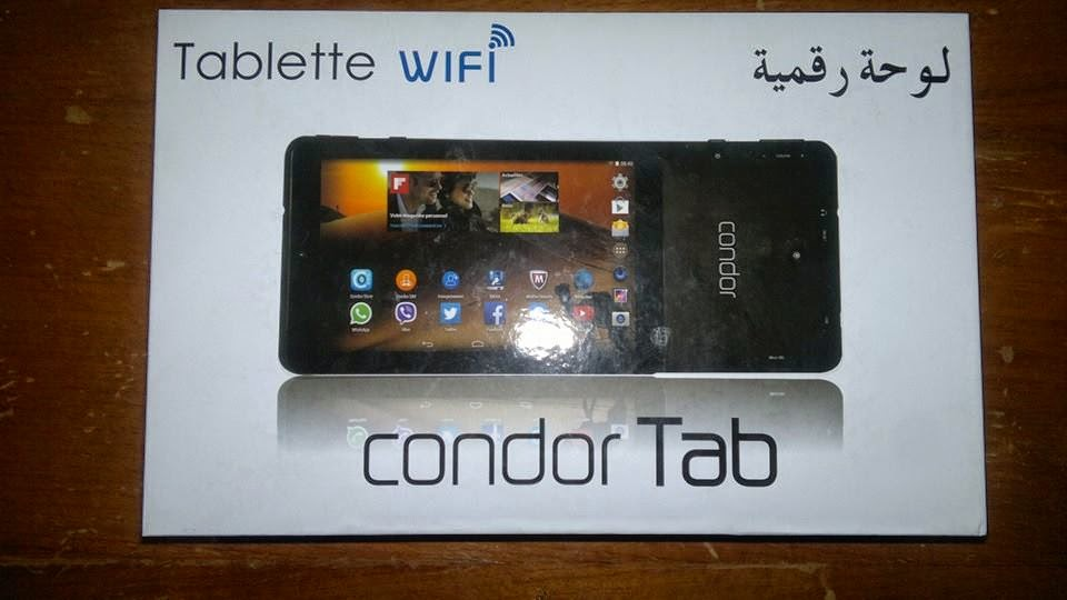 flash tablette condor tgw-706