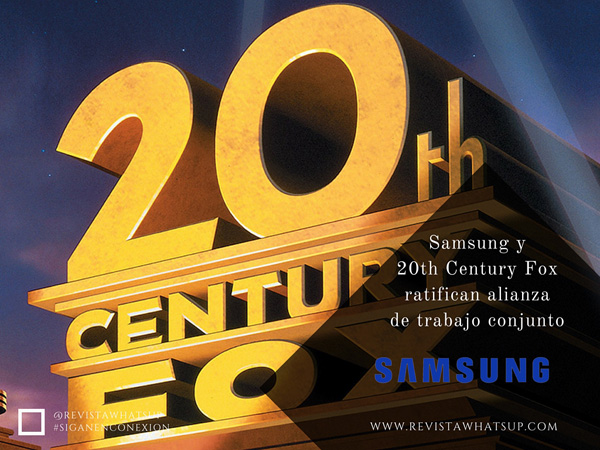 Samsung-20th-Century-Fox-alianza