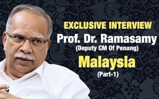 Exclusive Interview With Prof. Ramasamy (Deputy CM Of Penang)