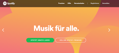 Web-Erfolgsstory mit schwedischen Wurzeln: Spotify