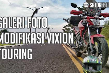 Galeri Foto Modifikasi Vixion Touring Terkeren Saat Ini
