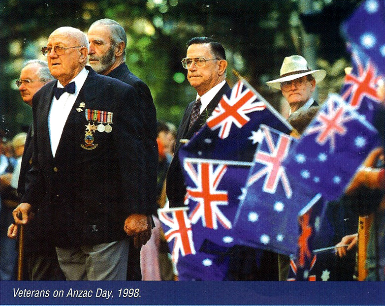 VETERANS ON ANZAC DAY 1998