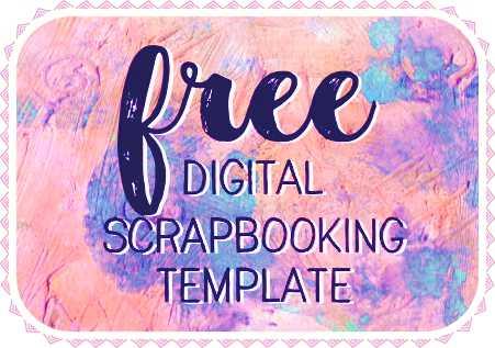 Free Scrapbook Templates | Free Download Digital Scrapbook Template Papemelroti Gifts
